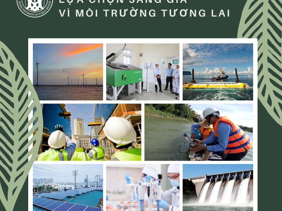 Công nghệ kỹ thuật môi trường – Lựa chọn sáng giá vì môi trường tương lai